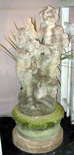 stone cherub group- kenjockety SOLD