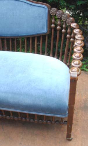 Hunzinger Oak Lollopop Sofa-SOLD