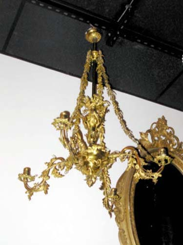 Gas Chandelier, Cornelius & Co