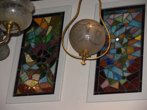 Stained Glass Windows, Pair