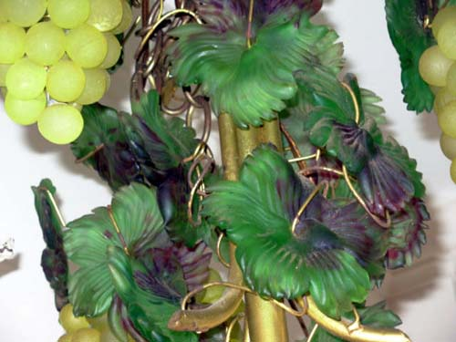 Chandelier, Murano  Glass Grape