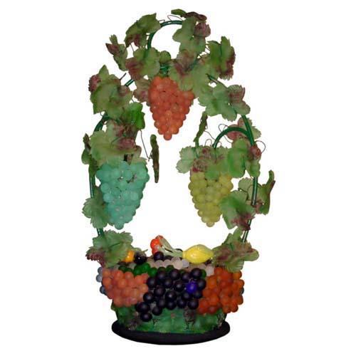 Murano Italian Glass Fruit lamp Sold