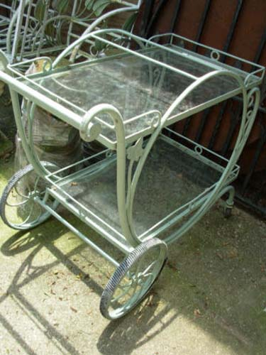 Tea Cart,  Vintage Salterini Cart SOLD