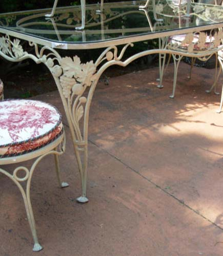 Salterini Dining Set- French Prov Pattern SOLD