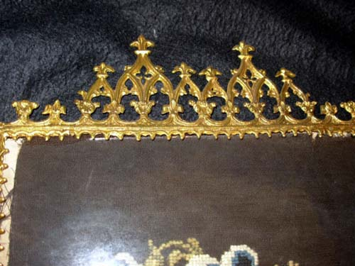 Gothic Gilt Candle Screen