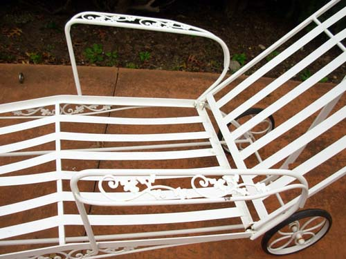 Chaise,Woodard Orleans  SOLD