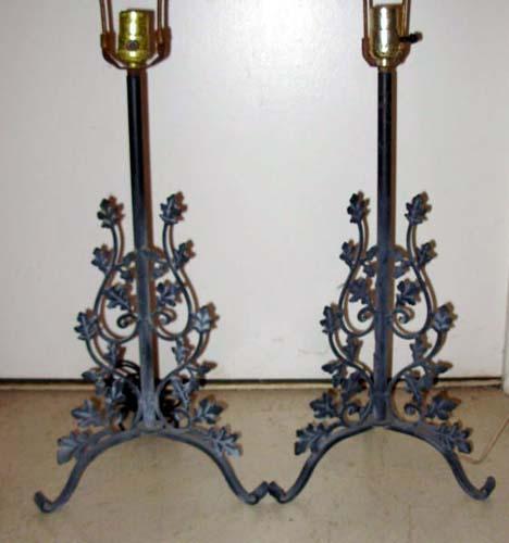 Woodard Lamps, PrOrleans Pattern SOLD