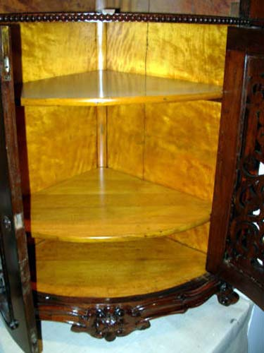 Cabinet, Meeks Sgd Rosewood  Rococo
