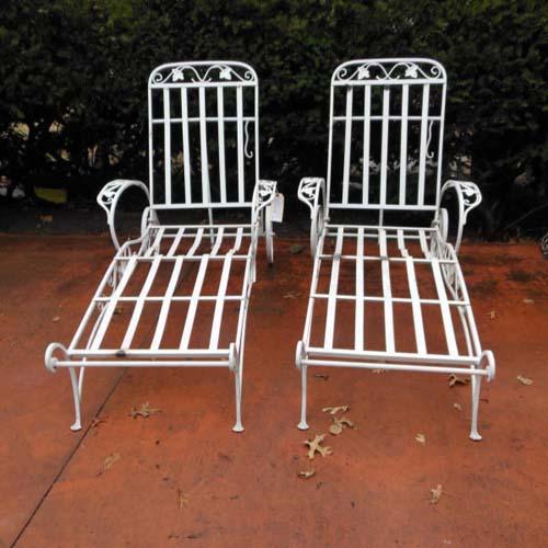 Salterini  Chaise Lounge SOLD