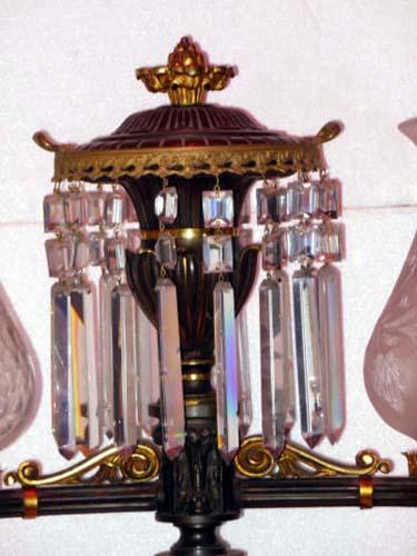 Argand Lamp; B. Gardiner