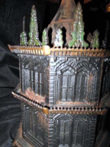 Bird House, Cast Iron by Miller  SOLD