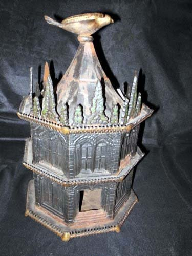 Bird House, Cast Iron by Miller SOLD
