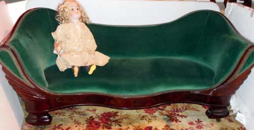 Sofa: Meeks Salesman Sample