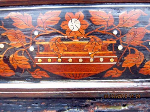 Sofa: Pottier & Stymus Inlaid SOLD