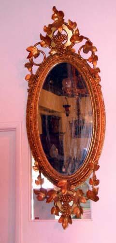 Gilded Rococo Revival Mirror