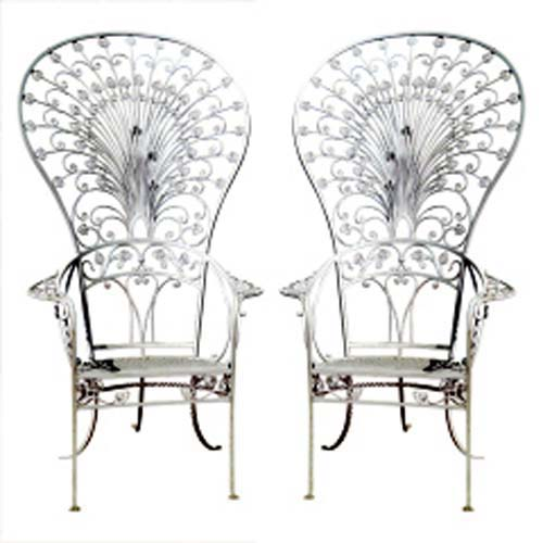 Peacock Chairs, by Salterini