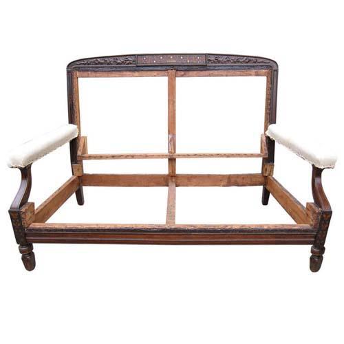 Sofa: Pottier & Stymus Inlaid SOLD