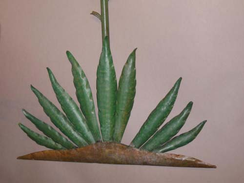 Tole Yucca Tree SOLD