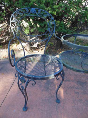 Bench, Woodard Chantilly Rose SOLD