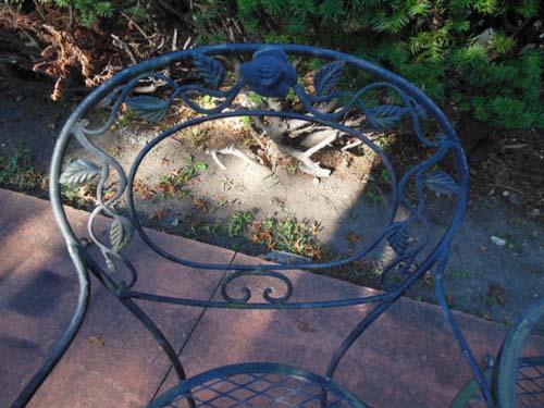 Bench, Woodard Chantilly Rose SOLD