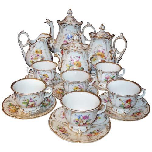 Tea Set Old Paris Tea Set