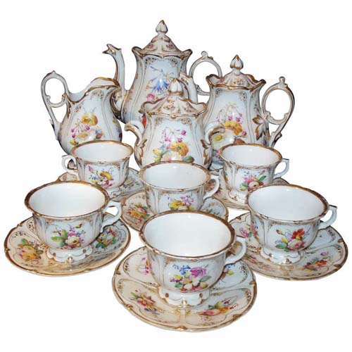 Tea Set: Old Paris Tea Set