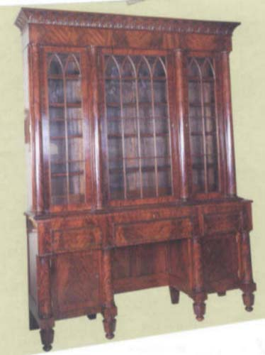 Bookcase Am.Classical& Gothic SOLD