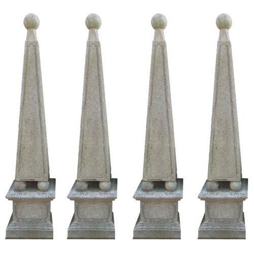 Cast Stone obelisks 4