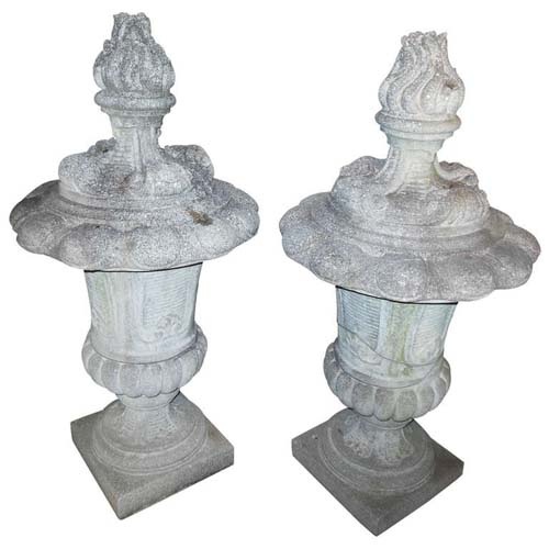 Garden Finials of Cast Stone 45