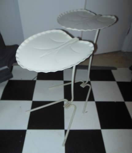 Salterini Vintage Lily Pad Tables SOLD