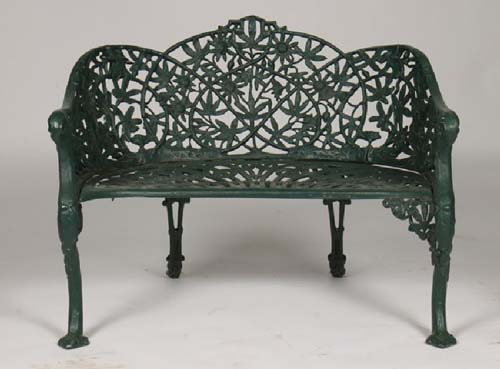 Bench Vintage Passion Flower SOLD