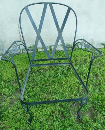 Garden Chair Chantilly Rose Woodard Sold