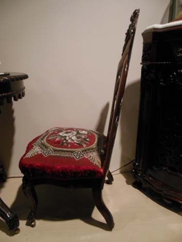 Chair, Belter Victorian Slipper Chair