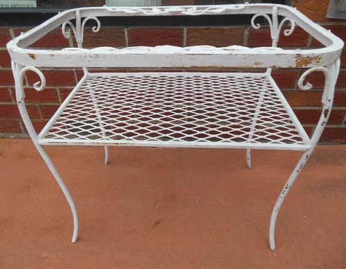 Table,  Chantilly Rose Woodard Sold
