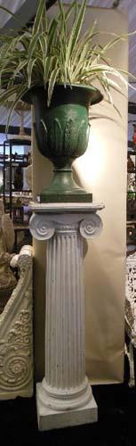 Garden Urns Cast Iron Pr  English Urns