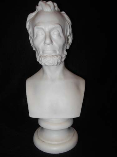 Lincoln Parian Bust.  SOLD