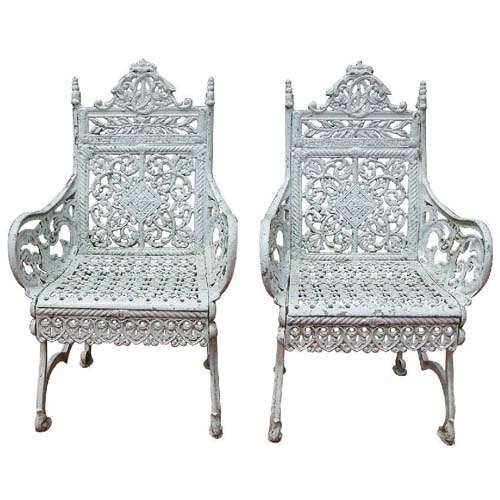 Chairs,  Timmes Cast Iron SOLD