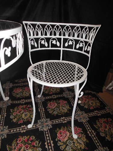 Salterini Vintage Patio Dining Set. SOLD