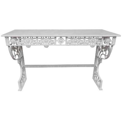 Aesthetic Style Cast Iron Marble top