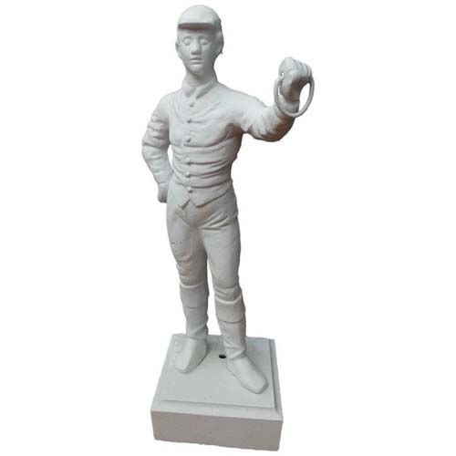 Jockey Cast Iron, American.  SOLD