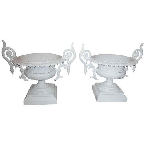 Urns, Cast Iron Urns by Wallbridge SOLD