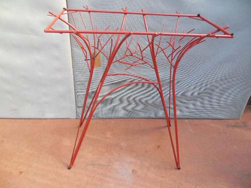 Wrought Iron Rustic or Twig Table