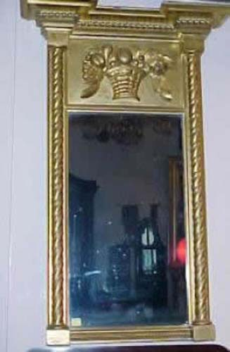 Sheraton & Classical Gilt Mirror