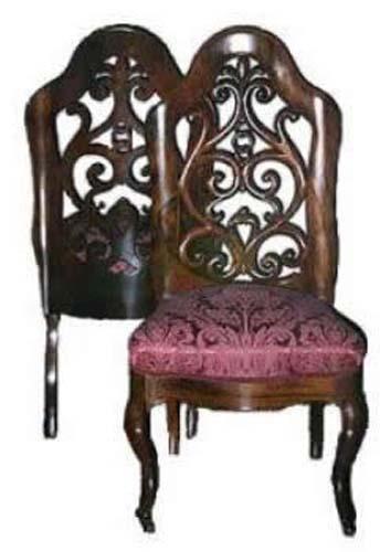 John Henry Belter Rococo Pr Slipper Chairs