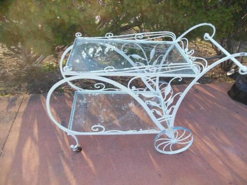 Bar cart, Vintage Salterini