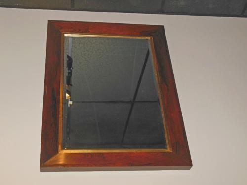 Rosewood Ogee Mirror