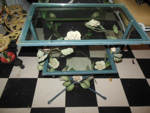 Vintage Italian Tole Tables