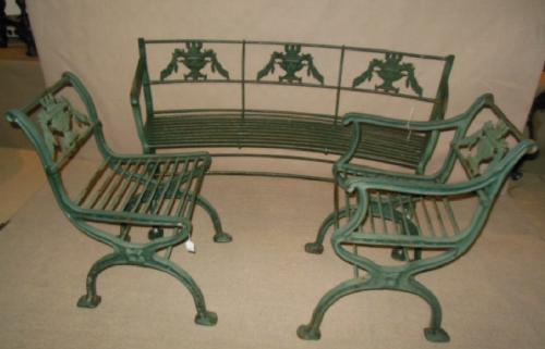 Cast Iron Regency 3 pc set