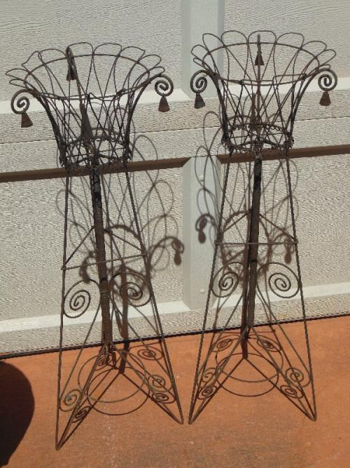 Wire Plant Stands
