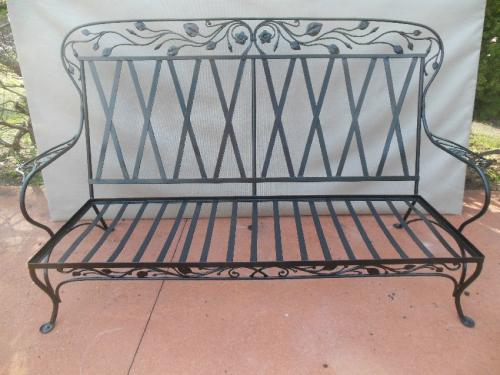 Vintage Patio or Garden Salterini  Sofa
